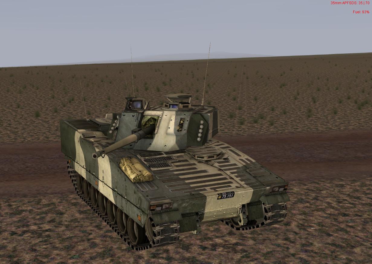 CV90/35 Desert
