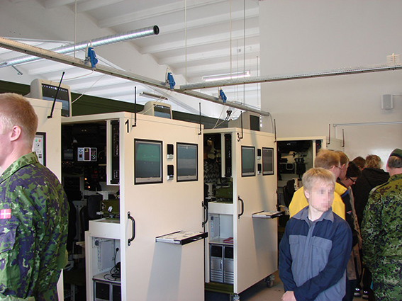 Crew Trainer Cabins (Holstebro)