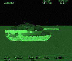CV9035 Gunner TIS View